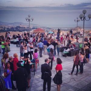 Hoch über den Dächern der Stadt: Tango auf der Bastion Saint Remis