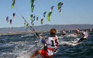 Mondiali di kitesurf a Cagliari 2014
