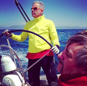 Wollen einen neuen Steuermann für Sardinien: Enrico Napoleone (l.) und Andrea Caruso